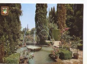 Postal 038862 : Granada. Generalife. Jardines