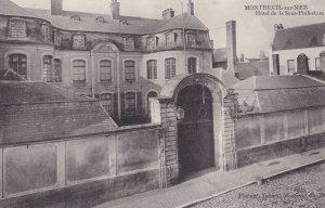 MONTREUIL SUR MER, Pas De Calais, France, 1900-1910s; Hotel De La Sour-Prefec...