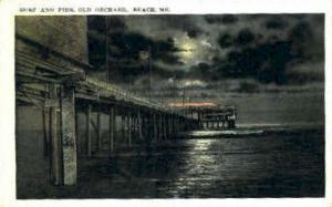 Surf & Pier Old Orchard Beach ME 1922