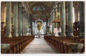 Interior Basilica, Ste. Anna de Beaupre