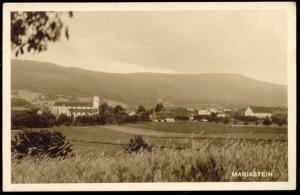 switzerland, MARIASTEIN, Panorama (1930s) RPPC