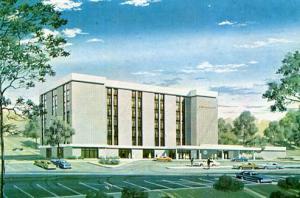 PA - Pittsburgh, Sheraton Motor Inn, Artist's Rendering