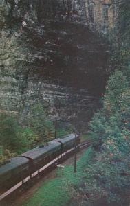 Norfolk & Western Railway Diesel Locomotives At South Entance To Natural ...