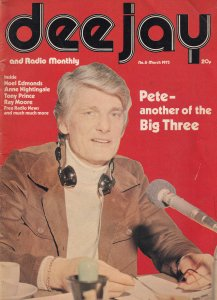 Pete Murray Anne Nightingale Noel Edmonds Radio 1 DJ 1970s Magazine