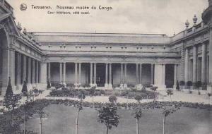 Belgium Tervuren Musee de Congo Cour interieure cote ouest