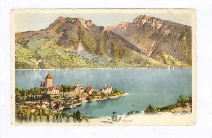Partial View, Spiez (Berne), Switzerland, 1900-1910s