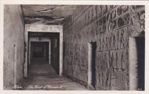 RP, THEBES, EGYPT , 1920-1940s; The Tomb Of Rameses IX