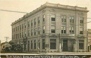 OK, Lawton, Oklahoma, First National Bank, Bates, RPPC