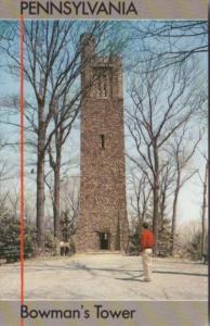 Bowman's Tower Washington Crossing Historic Park Bucks County Pennsylvania