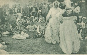 ALBANIA , 00-10s ; Tanzende Zigeuner in Tirana