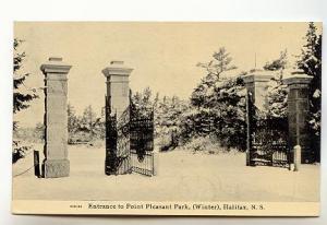 Winter Point Pleasant Halifax Nova Scotia, JR Findlay