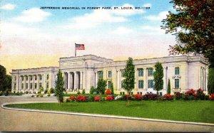 Missouri St Louis Forest Park Jefferson Memorial