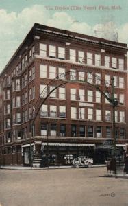 FLINT , Michigan , PU-1909 ; Elks Home , The Dryden