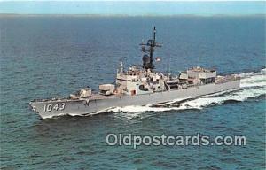 Newport, RI, USA Postcard Post Card USS Edward MC Donnell