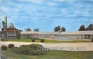 Route 66 Postcard Springfield, Missouri, USA Motel Ship & Anchor