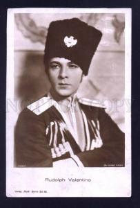 000019 Rudolph VALENTINO Great MOVIE Star Dzhigit Old photo PC