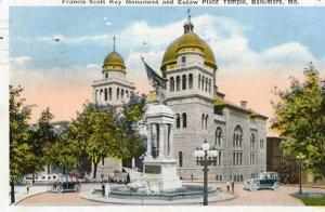 MD - Baltimore, Francis Scott Key Monument & Eutaw Place Temple