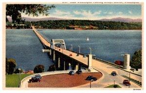Washington Lake Washington Floating Bridge