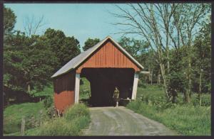 Covered Bridge,Route 14,Near East Rudolph,VT BIN