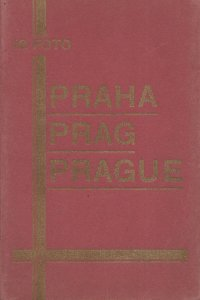Prague Czech Repubic Old Rare 18x Real Photo Old Postcard Book