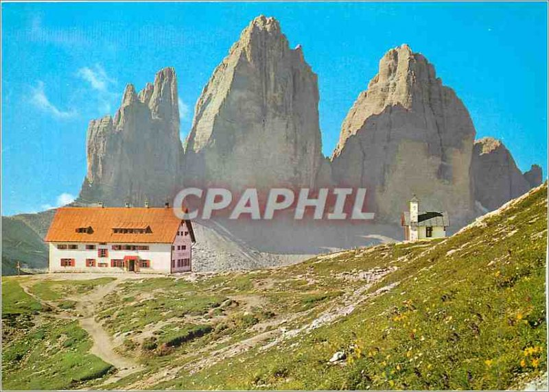 Postcard Modern Dolomiti Tre Cime di Lavaredo m 3003