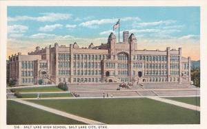 SALT LAKE CITY, Utah, 00-10s; Salt Lake High School