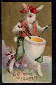 A Cheerful Easter Rabbit Drum BIN