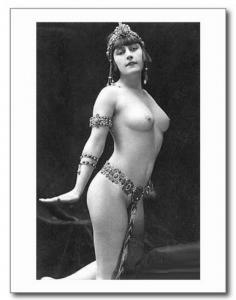 Nude Erotic Woman Female REPRO Vintage Postcard