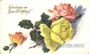 Artist Signed Catherine Klein Postcard Postcards Series 411 D Artist Catherin...