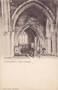Interior, Parish Church, Hawarden, Wales, UK, 1900-1910s