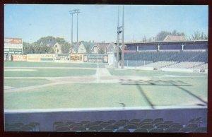 Borchert Field Home of the Milwaukee Brewers 1902-1952 Stadium chrome Postcard