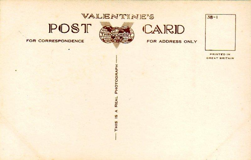 P1289 vintage valentine,s RPPC multiview kyles of bute scotland
