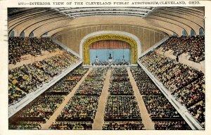 OH - Cleveland. Public Auditorium, Interior