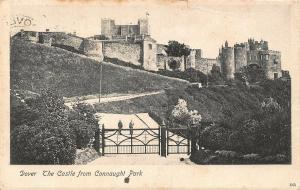 Dover The Castle from Connaught Park Postcard