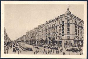 Hotel Ambassador Paris France unused c1920's