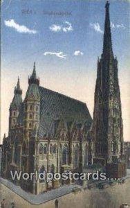 Stephanskirche Wien - Vienna Austria Postal Used Unknown