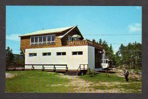NH Mt Whittier Gondola Summit West Ossipee New Hampshire Postcard Ski Area