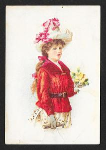 VICTORIAN TRADE CARD Wicke Harnesses Trunks & Valises