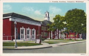 Mississippi Columbus Franklin Academy Curteich