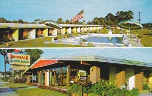 Florida South Vero Beach Landmark Motor Lodge and Swimming Pool
