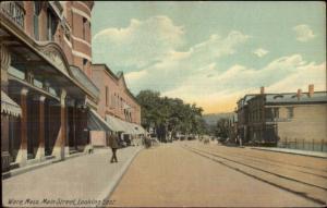 Ware MA Main St. c1910 Postcard
