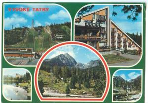 Slovakia, VYSOKE TATRY, used Postcard