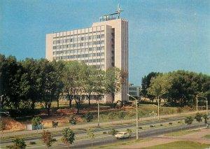Postcard Belarus Minsk Pobediteley Avenue