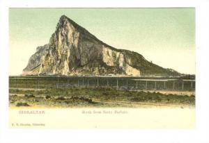Rock from Santa Barbara, Gibraltar, Europe,00-10s