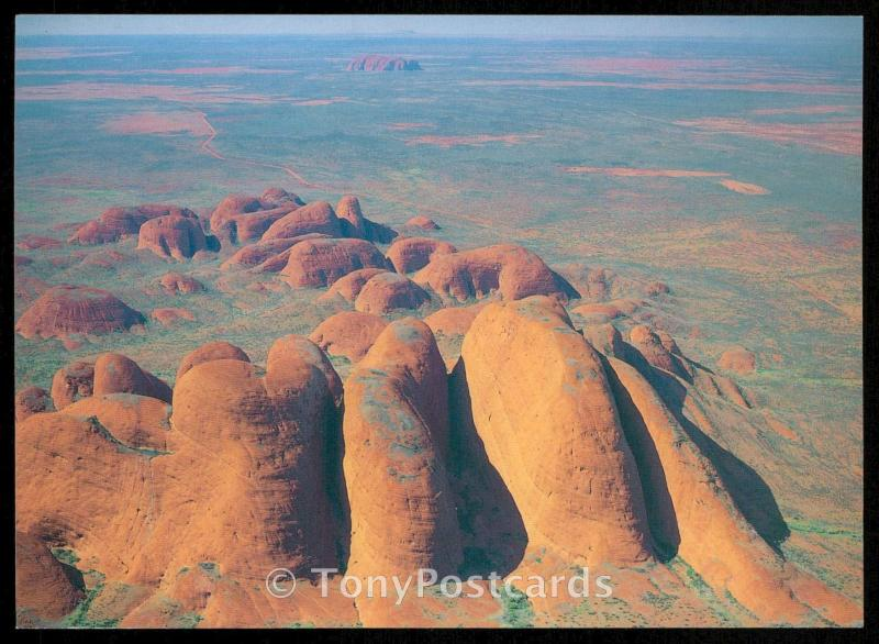 The Olgas - Ayers Rock - Mt. Conner