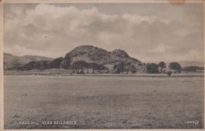 Dunadd Hill Bellanoch Antique Postcard