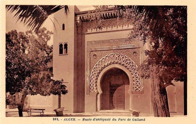 Algeria Musee d'Antiquite du Parc de Galland, Park