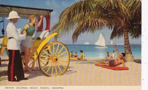 Bahamas Nassau Scene On British Colonial Beach