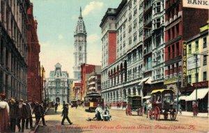 USA Pennsylvania Philadelphia Market Street West from Eleventh Street - 04.24