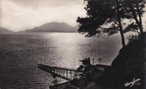 RP: Shoreline view with pier , CORSE , France , 1910s